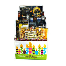 Birthday Brew and Snack Sampler – Gift#1086