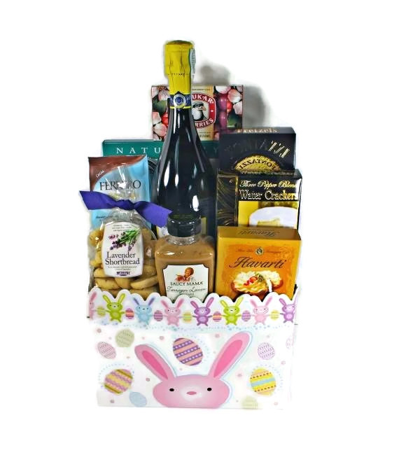 Easter archives deschutes gift baskets eggstra special champagne easter basket negle Images