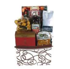 Cascades Sausage & Cheese Basket