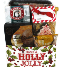 Holiday Sausage & Cheese Basket – Gift#1101