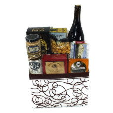 Bend Wine & Cheese Basket – #1008