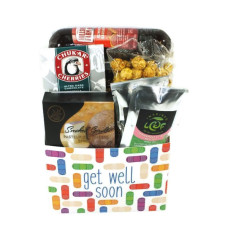 Get Well Soon Sausage & Cheese Basket