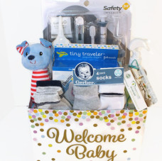 New Baby Wellness Basket