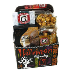Halloween Sausage & Cheese Basket