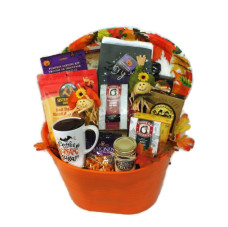 Fall Theme Gift Basket
