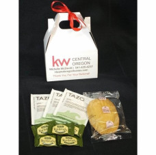 Tea & Cookie Mini Gift – (Personalized), Set of 12, $3.99 Each
