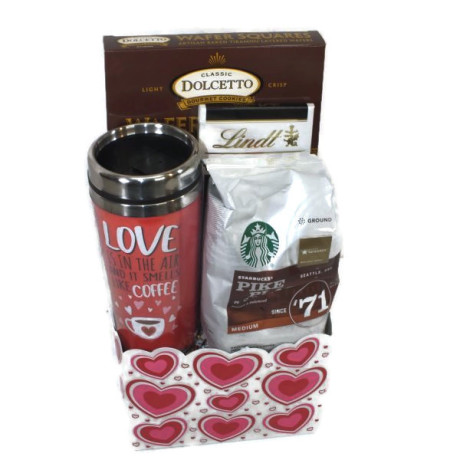 Valentine's Day Coffee & Chocolate Gift